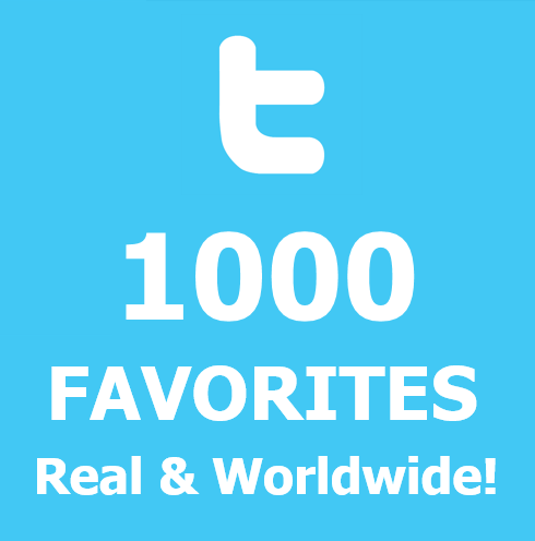 buy 1000 twitter-Favorites