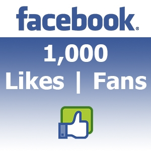 buy 1000 facebook fan likes
