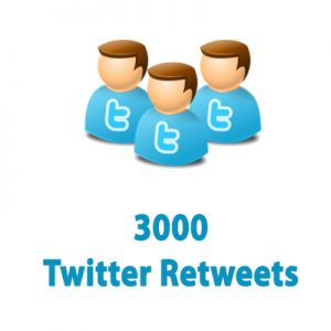 buy 3000 twitter retweet