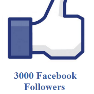 buy 3000 facebook followers