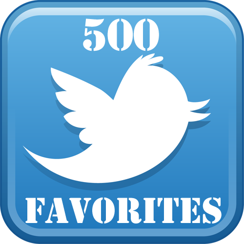 buy 500-twitter-favorites