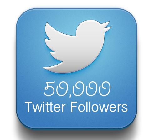 buy 50000 twitter followers