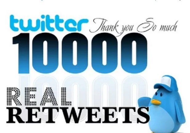 Buy 10000 twitter retweets