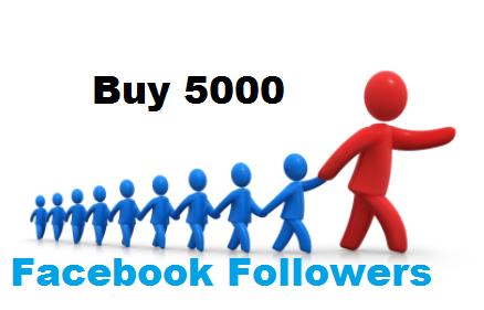 buy 5000 facebook follower