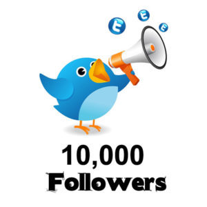 buy 10000 twitter followers
