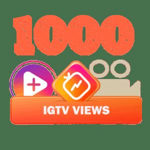 1000 igtv views