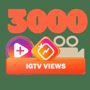 3000 igtv views