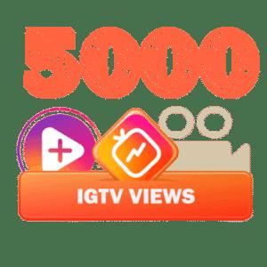 5000 igtv views